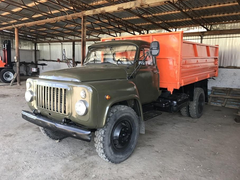 ГАЗ 53 самосвал